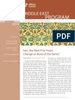 Iran, the Next Five Years