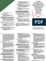 traktat broschyr a4