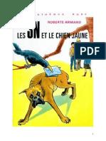 Roberte Armand 05 Les 3N Et Le Chien Jaune 1973 03