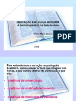 f226educacao Em Lingua Materna Power Point