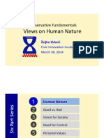 Conservative Fundamentals - Human Nature - Nurture