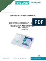 Cardioline AR 1200 - Service Manual
