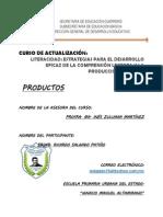Productos Del Curso Lateracidad