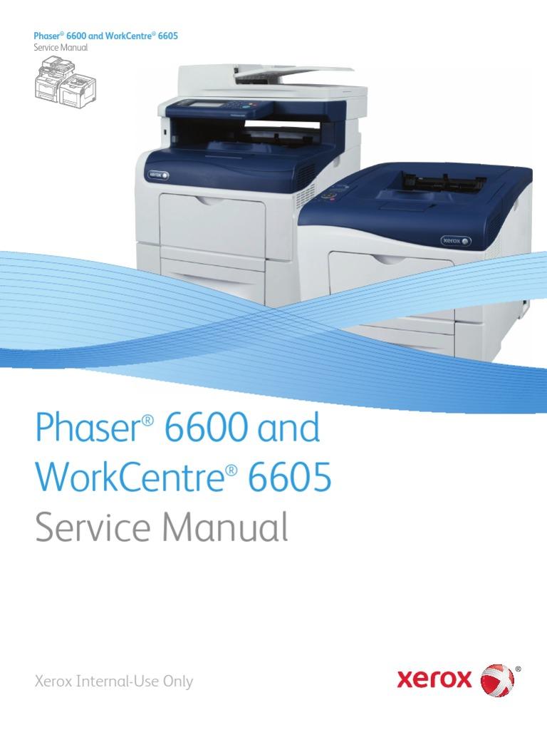xerox 6600 service manual electrostatic discharge computer rh es scribd com xerox wc 133 service manual Xerox WorkCentre 7845