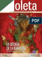Revista Violeta   No. 14 - La década de la igualdad