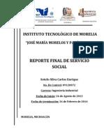 Reporte Final de Servicio Social