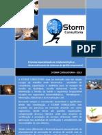 APRESENTAÇÃO STORM CONSULTORIA - 2013
