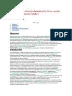 Estudio teórico sobre la administración de las cuentas por cobrar en el sector hotelero