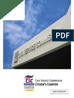 Csc Citizens Charter