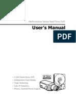 HDx E Series UserManual Eng 1.1.3