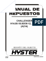 H18.00XM A214 Manual de Repruesto