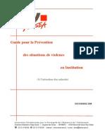 Guide Pour La Prevention
