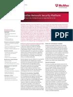 Ds Network Security Platform m Series