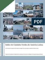 Indice de Ciudades Verdes