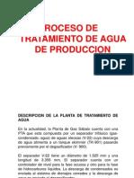 Tto de Agua de Produccion