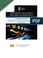 Descripción Sistema Bancario Guatemalteco