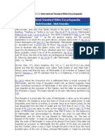 MELCHISEDEC International Standard Bible Encyclopaedia
