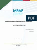 09-06-09 IE_12-Política fiscal anticíclica de Argentina