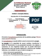 1-1-1 Termodinámica, sistemas termodinámicos y propiedades de un sistema.