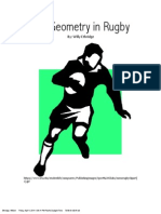 the geometry in rugby