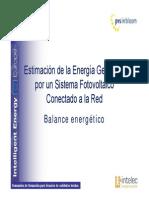 Seminarios PV in Bloom. Estimacion de La Energia Generada. (1)