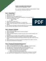 sem  3 cumulative exam updated
