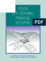 Seven Life-Defining Financial Decisions