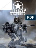 Dust Tactics Starter Rules 2014