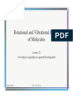 Vibrational modes