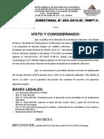 RESOLUCION DIRECTORAL-APAFA-2012