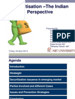 Securitisation- The Indian Perspective.ppt