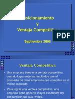 6 - Posicionamiento y Ventajas Competitivas