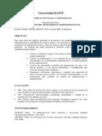Fundamentos Del Pensamiento Administrativo