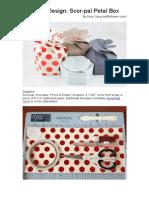 Guest Design Scor-Pal Petal Box Tutorial