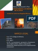 Presentación REGALIAS MINERAS.ppt