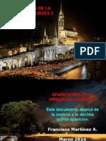 Apariciones de La Virgen de Lourdes 2