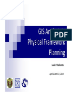 GIS-Based Analysis in Physical Framework Plans