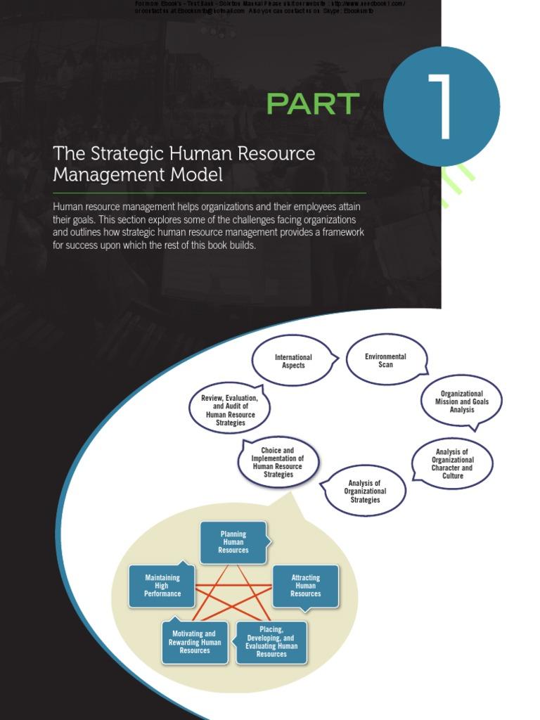 nike human resources strategic plan