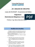 2ª CLASE -  M E & IE ANALISIS DE CIRCUITOS II - V2