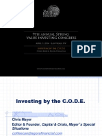 Chris Mayer Investing by CODE