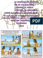 HOJITA EVANGELIO DOMINGO V CUARESMA  A SERIE
