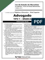 Advogado da Assembléia Legislativa do Estado do Maranhão - PROVA.pdf