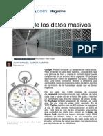 El Tesoro de Los Datos Masivos