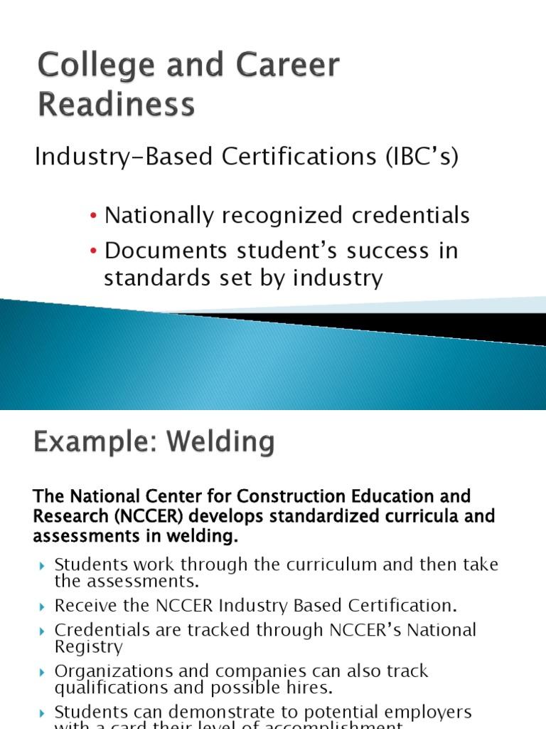 Parent Universityindustry Based Certificates