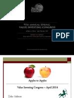 Zeke Ashton Apples to Apples
