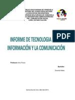 Informe Sobre Formatos de Textos