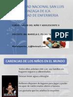 Clase 1.3.- Enfermedades Prevalentes en La Infancia - Mg. Mariela Pecho Tataje