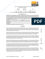 Convenio de Apf Telesecundaria 10,000
