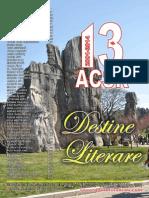 Destine Literare, January-March 2014