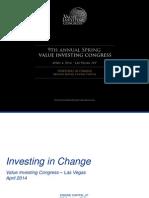 Arnaud Ajdler Investing in Change